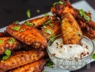 Мариновани пилешки крилца със соев сос и чесън
